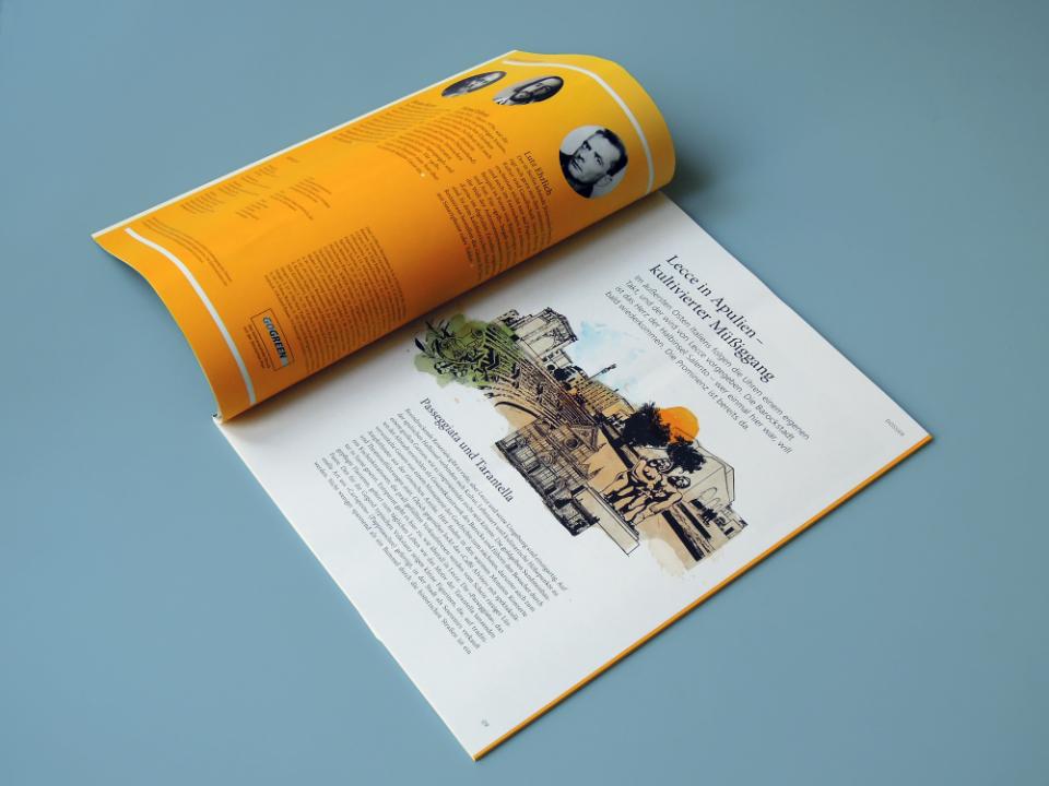 Gelb – Magazin der deutschen Post
